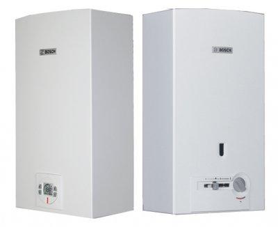 Nuevos calentadores de agua a gas